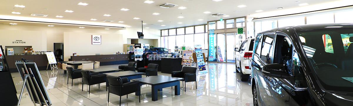 秋田トヨタ 鷹巣店 店舗写真
